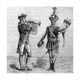 Military Music 8th Century Musicians (6 of 8) Giclee Print