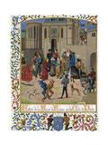 Isabeau de Baviere 1389 Giclee Print