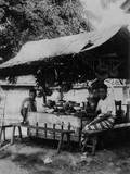 Javanese 'Shop' Photographic Print