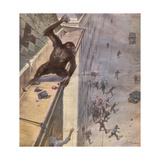 Escaping Monkey, 1932 Giclee Print