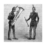Military Music - Musicians of the Republican Guard (8 of 8) Giclee Print
