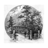 Rw Emerson, Concord Circl Giclee Print