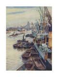 The Pool of London Giclee Print