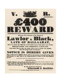 Events, Australia, 1854 Giclee Print