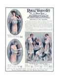 Advert for Royal Worcester Corsets 1922 Giclee Print