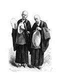 Regional Music:Japanese Gong and Cymbals, C. 1870. Giclee Print