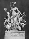 The Three Fates, Sculpture Photographic Print
