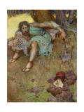 Illustration of the Shakespeare Play Timon of Athens Giclee Print