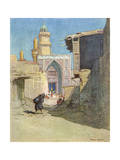 The Golden Towers of Khadamain, Baghdad Giclee Print