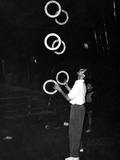 Circus Juggler Photographic Print