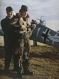 German Pilot Dresses Photographic Print