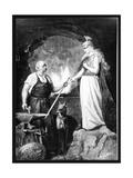 Bismarck as Blacksmith Giclee Print
