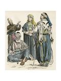 Racial, Arabs, Syria 4 Giclee Print