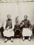 Two Chinese Men Photographic Print