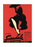 Scandale Stockings 1952 Giclee Print