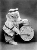 Bone Town Band Photographic Print