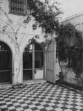 Tunisian Patio Photographic Print