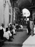 Jerusalem Street Scene Photographic Print