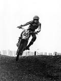 Motocross Scrambling Photographie