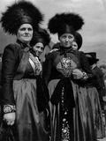Montafon Women, Austria Photographic Print