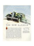 Cadillac 1935 Giclee Print