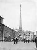 Obelisk in Rome Photographic Print