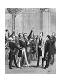 Freemasonry and Politics Giclee Print