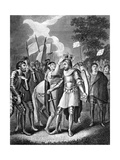 King Henry VII after the Batte of Bosworth Giclee Print