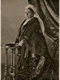 Queen Victoria - Standing Portrait Photographic Print