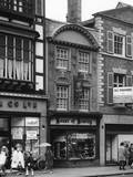 Tobacconist's Shop in Chester, Cheshire Photographic Print