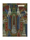 Fabric Design, Art Gout Beaute, 1924 Giclée-tryk
