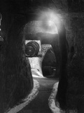 Trip to Jerusalem Cellar Photographic Print