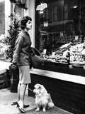 Housewife Shopping Photographic Print