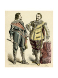 Princely Costume C17Th Giclee Print