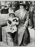 Little Girl Rescued from the 'Lusitania' 1915 Photographic Print