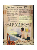 Fairy Soap Advert Giclee Print
