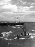 Great Yarmouth Shrimper Photographic Print