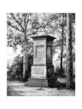 Daniel Boone's Grave Giclee Print