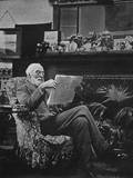 Sir Hugh Bell in Gertrude's Sitting Room - Baghdad, Iraq Photographic Print