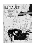 Renault Sports Models Giclee Print