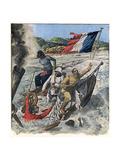 Travellers Drown, Mekong Giclee Print
