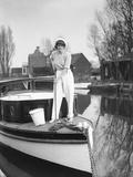 Lady Sailor Photographic Print