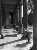 Neo Classical Colonnade Photographic Print