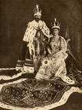 Coronation of King George V and Queen Mary Photographic Print
