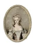 Marie Antoinette, Anon Giclee Print