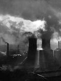 Smoke over Halifax Photographic Print
