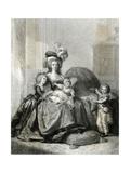 Marie Antoinette, Lebrun Giclee Print