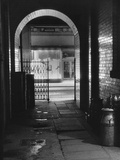 Spooky Alley Photographic Print