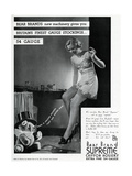 Advert for Stockings by Bear Brand 1934 Giclee Print