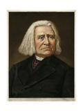 Franz Liszt Premium Giclee Print
